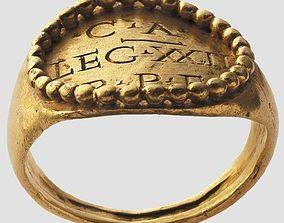 3D printable model Roman officer ring replica