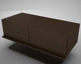 modern night table 2 3D