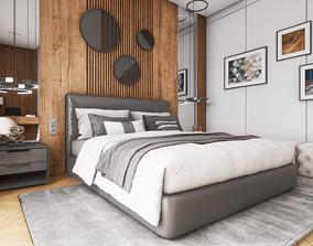 HQ ArchViz Bedroom Vol 1 3D asset
