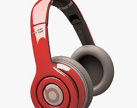 Beats Solo HD Headphone 002 3D asset