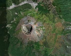 Pompei and Mount Vesuvius Italy 3D model