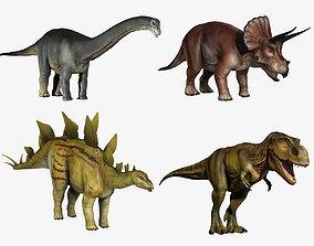 3D model Dinosaur Collection Basic