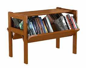 Jacques Adnet Bookshelf 3d model