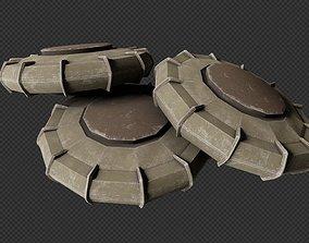 3D model Infantry Mine