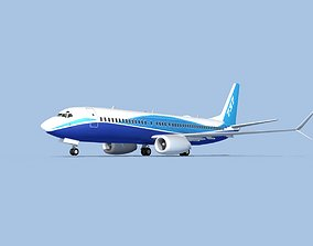 3D Boeing 737-800 Max Boeing Aircraft