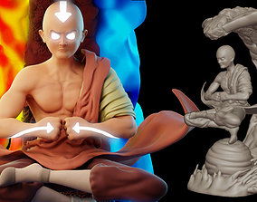 The Legend of Aang 3D print model