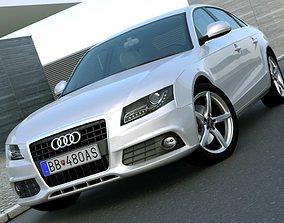 Audi A4 2008 3D