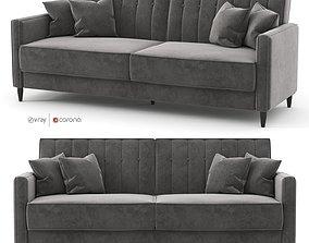 Nia Sleeper low poly sofa by Wilia Arlo 3D asset