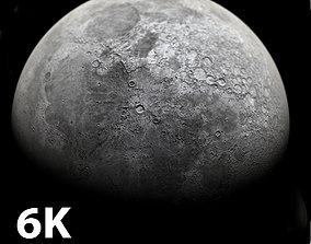 3D 6K Moon