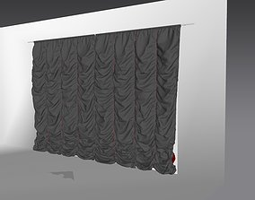 Marvelous Designer and 3DS Max Curtains01 Variation 1