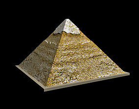 3D asset realtime The Egyptian Pyramid of Khafre