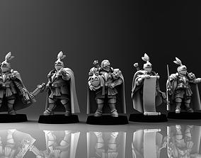 Feudal Guard Male Higher Officers 3D print model