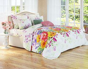 3D model Corona A7 bedroom scene