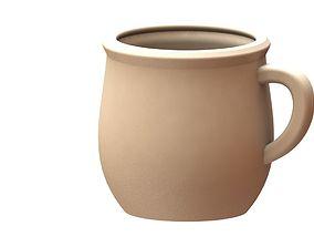 3D print model Arabic clay pot