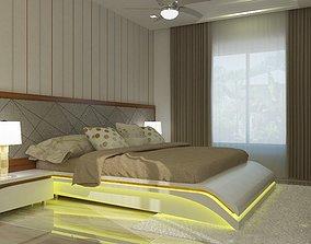 BEDROOM wall 3D model