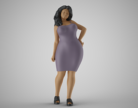 Summer City Woman 2 3D printable model