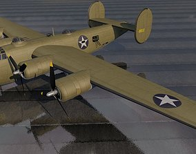 Consolidated XB-41 Escort Fighter 3D