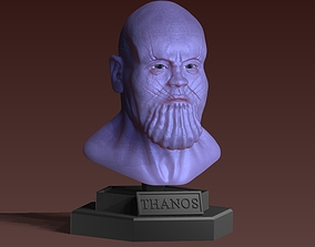 thanos bust 3D model character