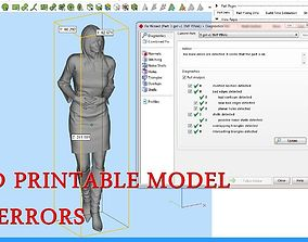 3D print model Business woman