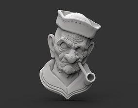 Old Sailor 3D print model