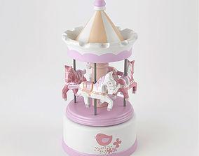 3D model Musical carousel Lilirose Amadeus