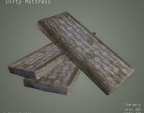 Dirty Mattress - Low Poly 3D asset