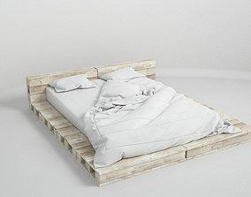 pallet bed 3D