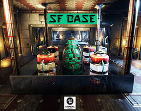 SF Base for Unreal 3D model