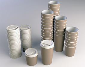 Coffee Cup Take Away 3D model