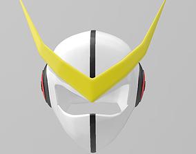 3D printable model Casshern helmet
