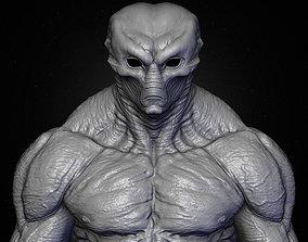 3D model Realistic Alien 10 Sculpt