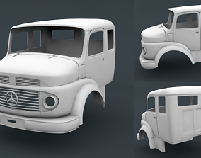 Mercedes Benz 1519 Cabin Truck 3D print model