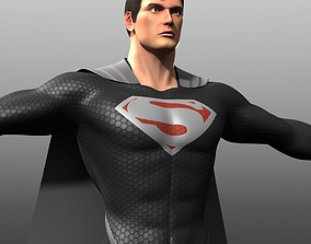 Reign of Supermen Costume 3D model