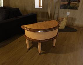 3D Half Moon Table