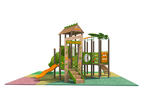 JUNGLE PLAYGROUND tree 3D
