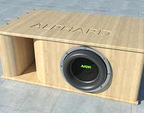 3D subwoofer car AVATAR