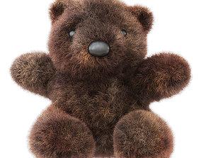 Bear Soft Toy 3D model