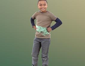 Zachary 10047 - Smiling Child 3D model
