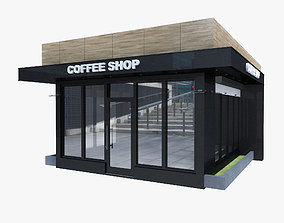 Coffee Pavilion 3D