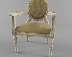 classic style chair 3D model