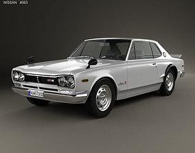 Nissan Skyline C10 GT-R Coupe 1970 3D
