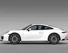 3D Porsche 911 Carrera 4S Coupe 991 2016