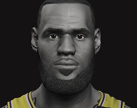 LeBron James Bust 3D print model