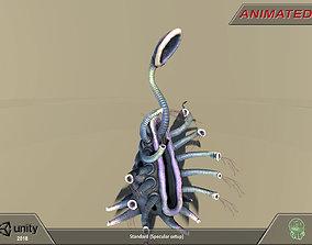 3D asset Alien flora-plant 04