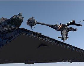 STAR WARS SUPER PACK 10 SHIPS 3D model