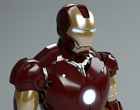 3D Iron Man mark 3