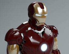 3D Iron Man mark 3