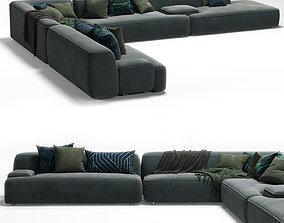 3D model lema cloud sofa