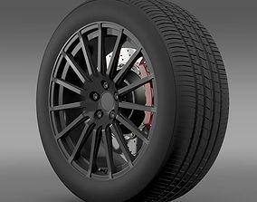 Subaru BRZ STI wheel 3D model