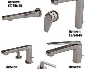 Faucets Jacob Delafon AVID collection 3D faucets